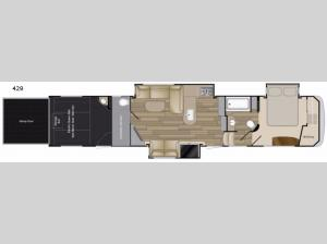 Road Warrior 429 Floorplan Image