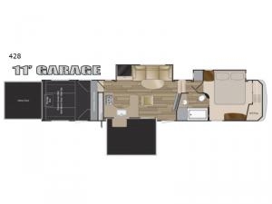 Road Warrior 428 Floorplan Image
