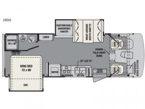 FR3 25DS Floorplan Image