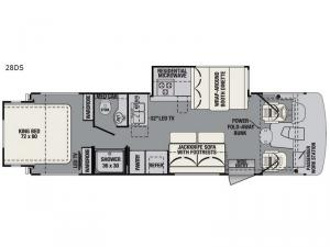 FR3 28DS Floorplan Image