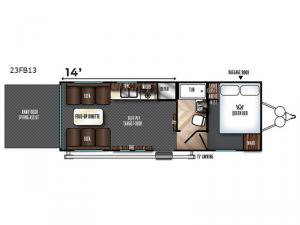 Vengeance 23FB13 Floorplan Image