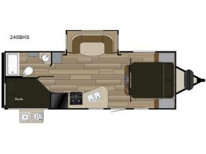Shadow Cruiser S-240BHS Floorplan Image
