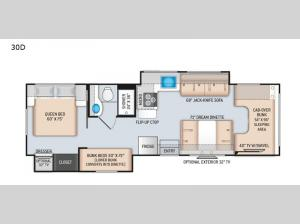 Four Winds 30D Floorplan Image