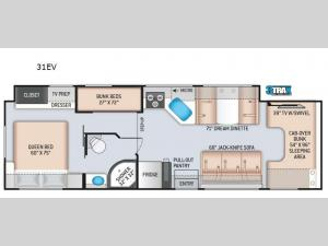 Four Winds 31EV Floorplan Image