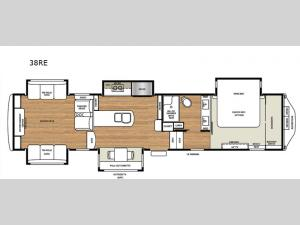 RiverStone Legacy 38RE Floorplan Image