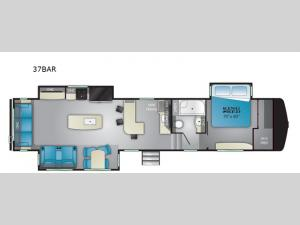ElkRidge 37BAR Floorplan Image