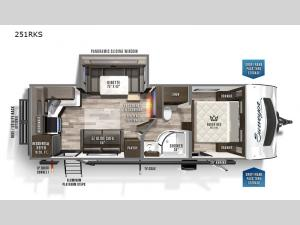 Surveyor Luxury 251RKS Floorplan Image