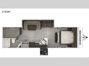Cherokee Black Label 274DBHBL Floorplan Image