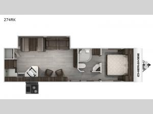 Cherokee Black Label 274RKBL Floorplan Image