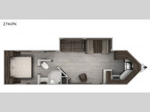 Cherokee Black Label 274VFKBL Floorplan Image