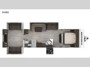 Cherokee Black Label 304BSBL Floorplan Image
