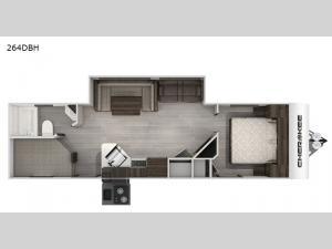 Cherokee Black Label 264DBHBL Floorplan Image