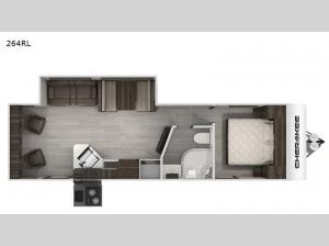 Cherokee Black Label 264RLBL Floorplan Image