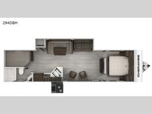 Cherokee Black Label 294DBHBL Floorplan Image