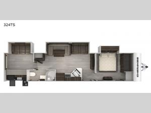 Cherokee Black Label 324TSBL Floorplan Image