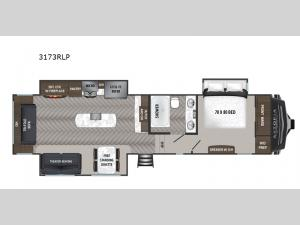 Astoria 3173RLP Floorplan Image