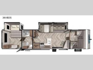 Salem 36VBDS Floorplan Image