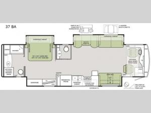Allegro RED 37 BA Floorplan Image