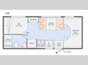 Outlook 22E Floorplan Image