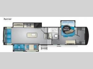 Landmark 365 Rainier Floorplan Image