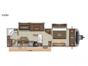 White Hawk 32KBS Floorplan Image