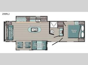 Gold Edition 299RLI Floorplan Image