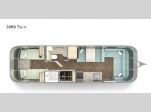 International 30RB Twin Floorplan Image
