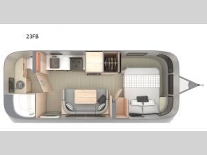 Globetrotter 23FB Floorplan Image