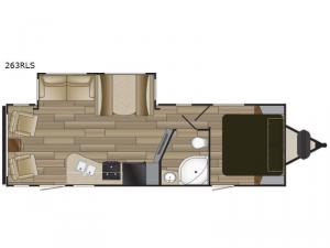 Shadow Cruiser S-263RLS Floorplan Image