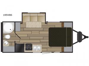 Shadow Cruiser 195WBS Floorplan Image