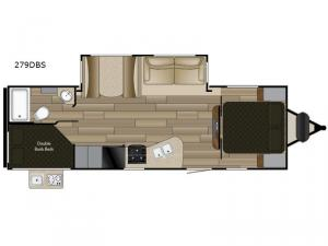 Shadow Cruiser 279DBS Floorplan Image