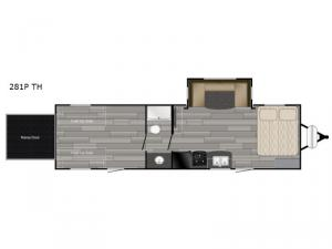 Prowler 281P TH Floorplan Image