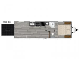 Prowler 261P TH Floorplan Image