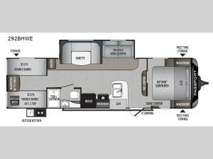 Passport 292BHWE SL Series Floorplan Image