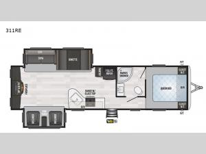 Springdale 311RE Floorplan Image