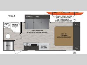 No Boundaries NB19.5 Floorplan Image