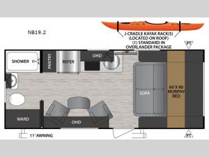 No Boundaries NB19.2 Floorplan Image