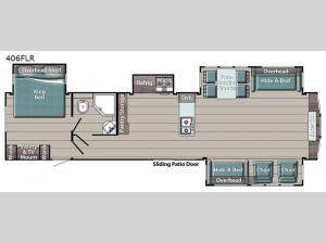 Innsbruck Lodge Series 406FLR Floorplan Image