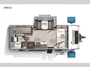 Surveyor Legend 19BHLE Floorplan Image