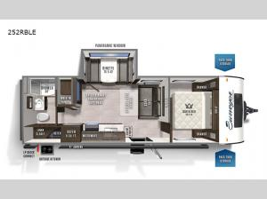 Surveyor Legend 252RBLE Floorplan Image