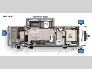 Surveyor Legend 296QBLE Floorplan Image