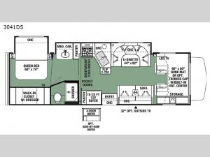 Forester 3041S Ford Floorplan Image
