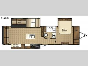 SolAire Ultra Lite 316RLTS Floorplan Image