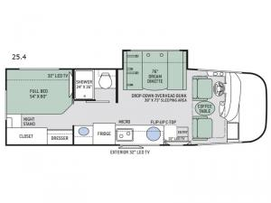 Axis 25.4 Floorplan Image