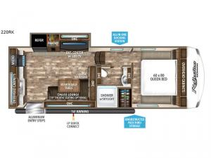 Reflection 150 Series 220RK Floorplan Image