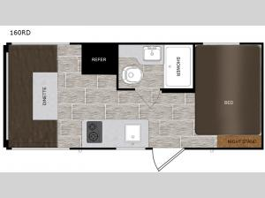 PTX 160RD Floorplan Image