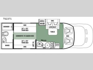 Forester TS 2371 Floorplan Image