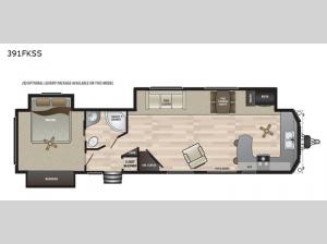 Retreat 391FKSS Floorplan Image