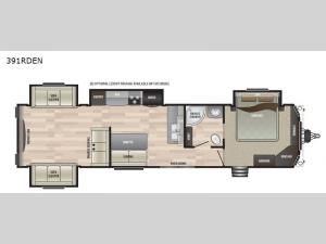 Retreat 391RDEN Floorplan Image