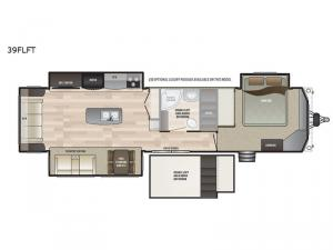 Retreat 39FLFT Floorplan Image